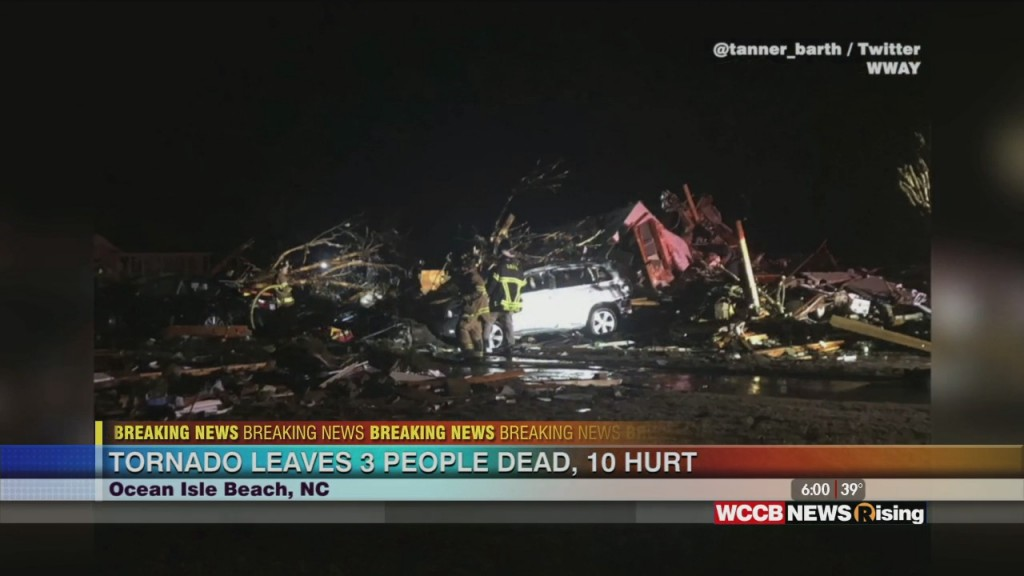 Tornado Leaves 3 Dead, 10 Hurt