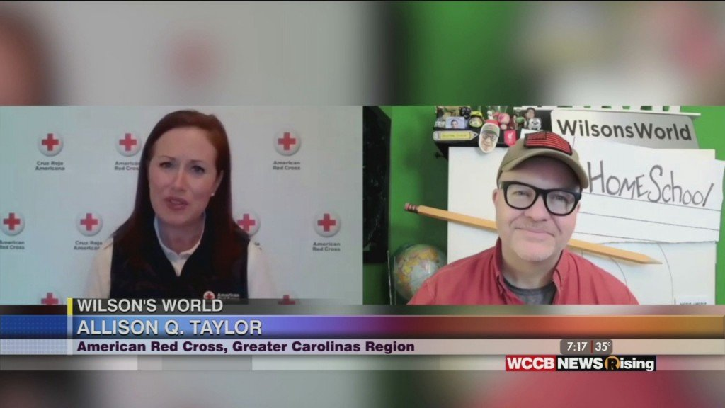 Wilson's World:talking With The Red Cross On National Caregivers Day