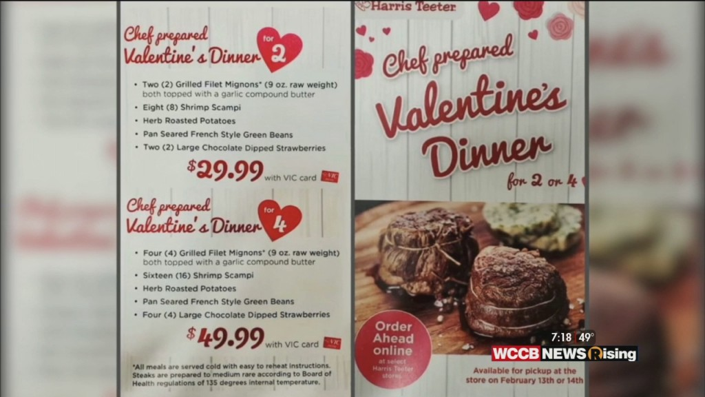 Wilson's World: Getting Help From Harris Teeter With Your Valentine's Day Meal