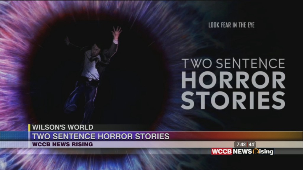 """Wilson's World Homeschool: Previewing And Learning More About """"two Sentence Horror Stores"""" On Wccb Charlotte's Cw"""