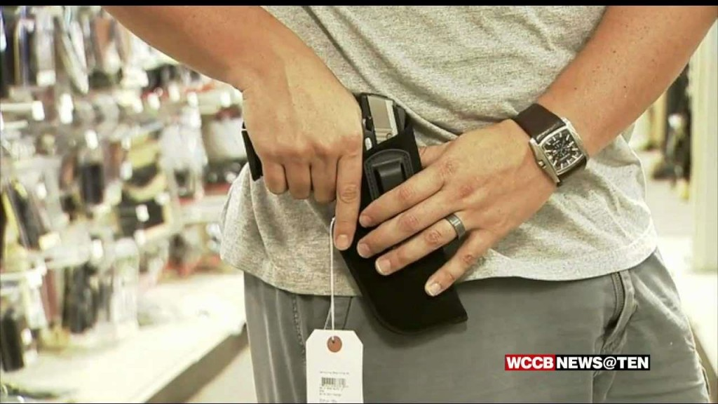 Iredell Co Considering Letting County Workers To Carry Guns Image