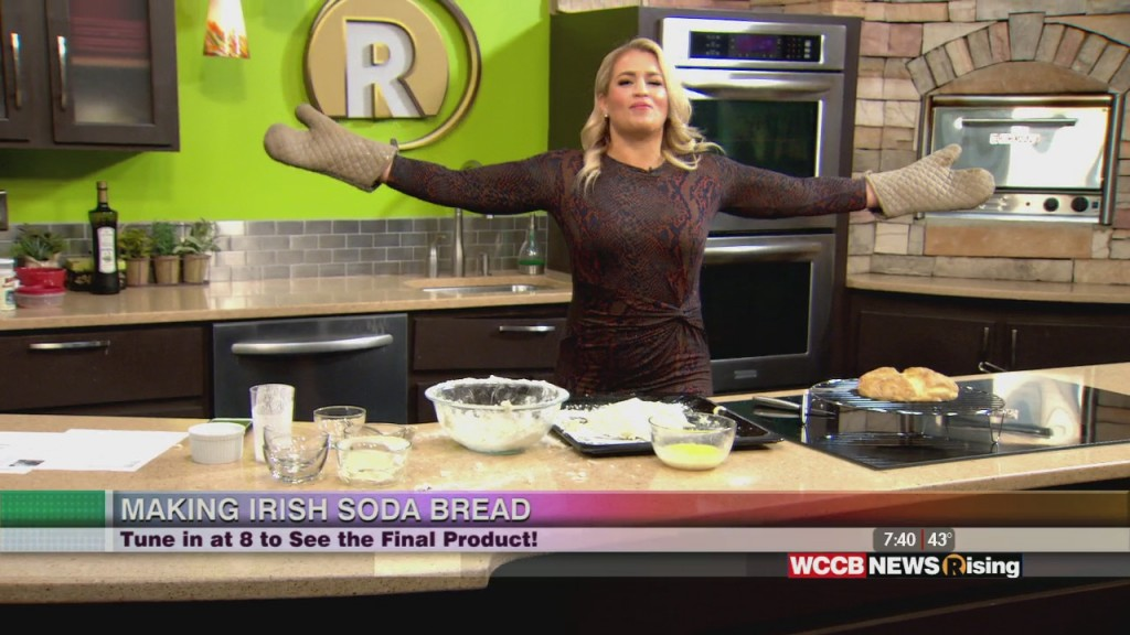 Irish Soda Bread For St. Patrick's Day