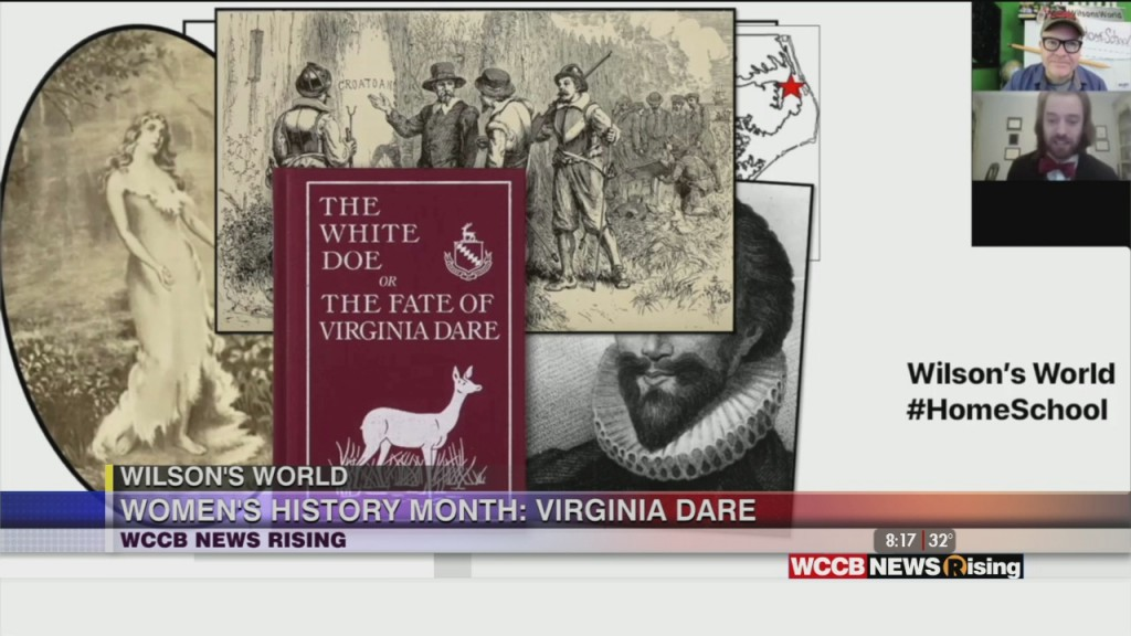Wilson's World Homeschool: Learning More About Virginia Dare, The First English Child Born In The New World English Colony
