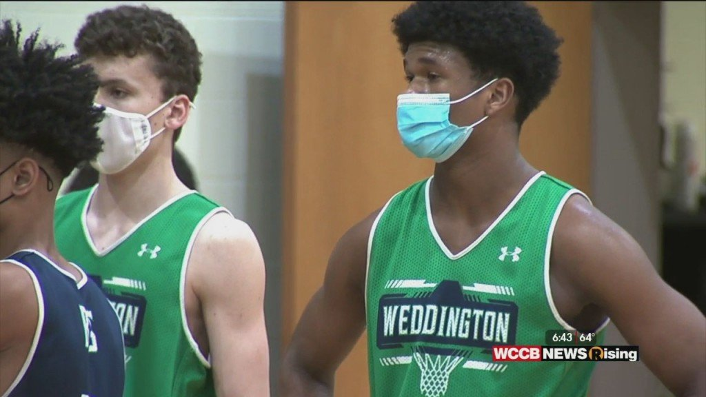 Weddington Basketball Seeks State Title Behind Star Junior Chase Lowe