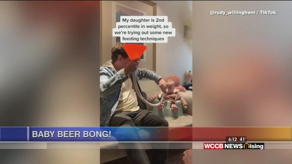 Viral Videos: Baby Beer Pong And Man Walks With Snake & Parrot