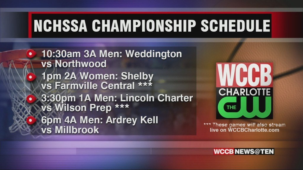 Nchssa Championships On Wccb Schedule
