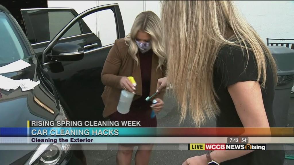 Rising Spring Cleaning Week: Car Cleaning Hacks