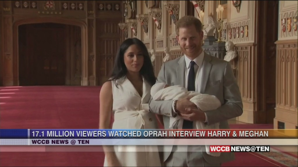 17.1 Million People Watched Meghan And Harry Interview With Oprah