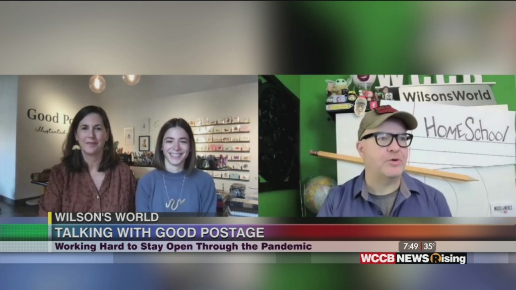 Wilson's World: Visiting Good Postage, A Mother/daugher Business In Camp North End