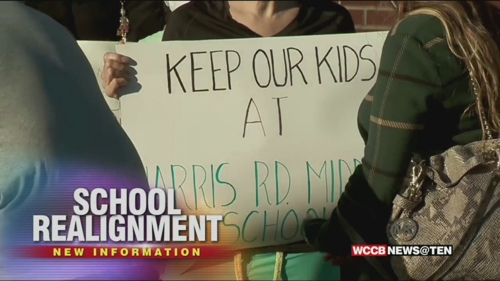 Parents Rally Against Cabarrus Co. Middle School Realignment