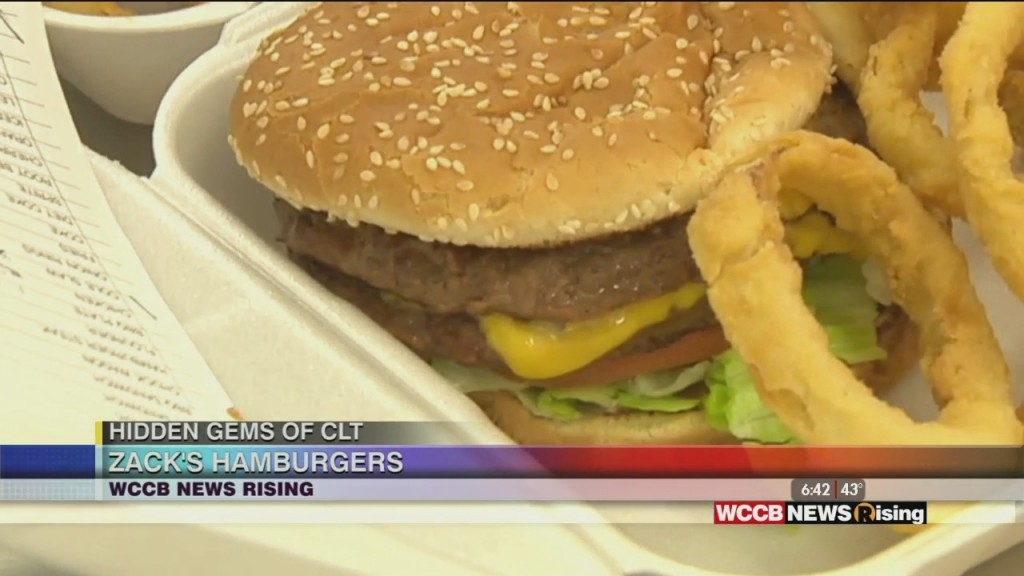 Hidden Gems Of Clt: Zack's Hamburgers