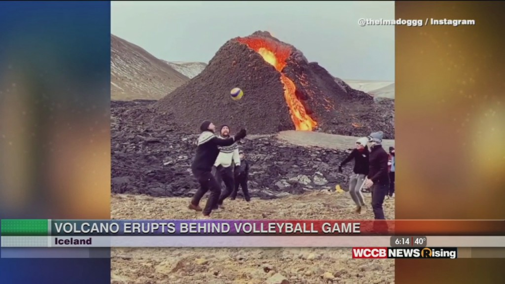 Viral Videos: Volleyball Game At Volcano & Giraffe Grabs Kid