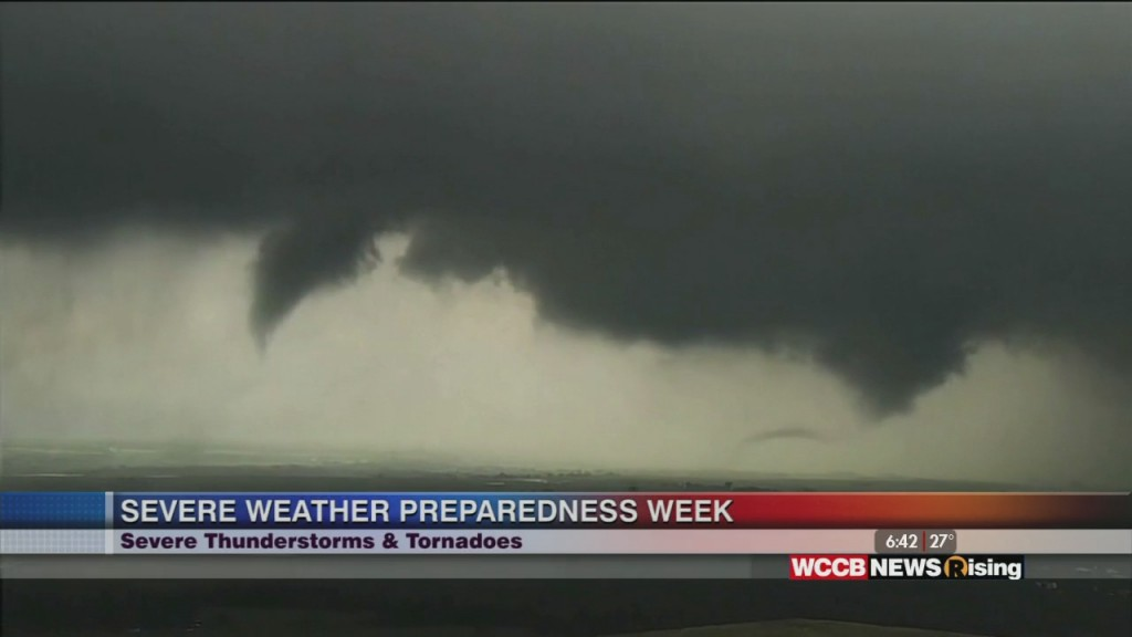 Severe Weather Preparedness Week: Severe Thunderstorms & Tornadoes