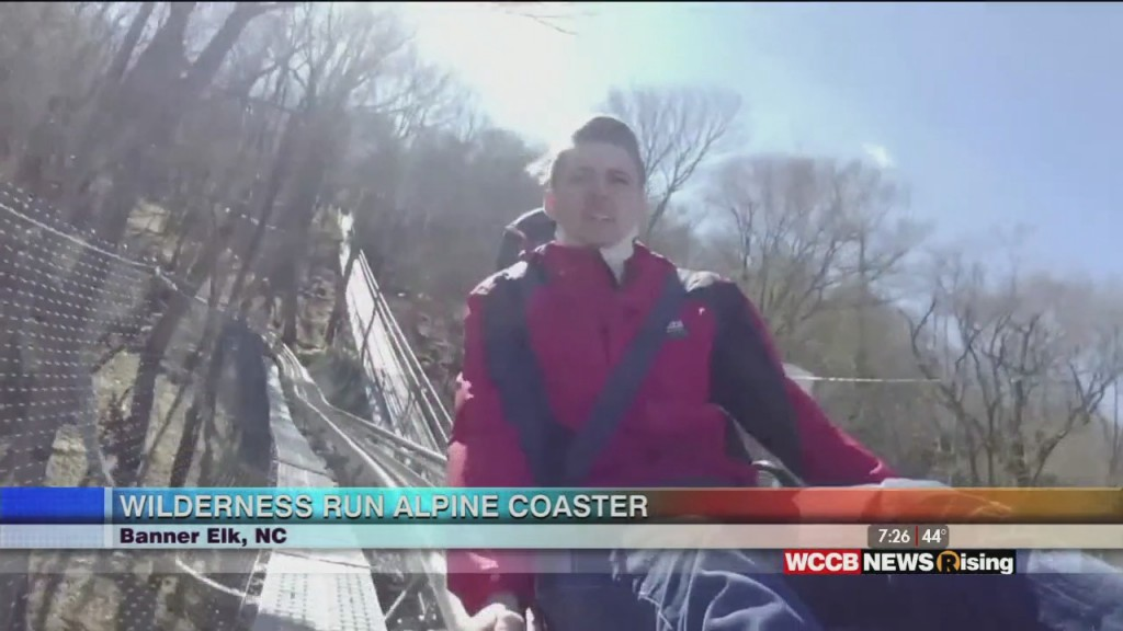 On The Road With James: Wilderness Run Alpine Coaster