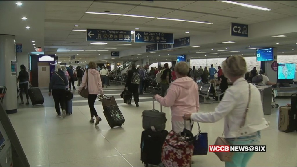 Busy Airport Day At Clt Douglas