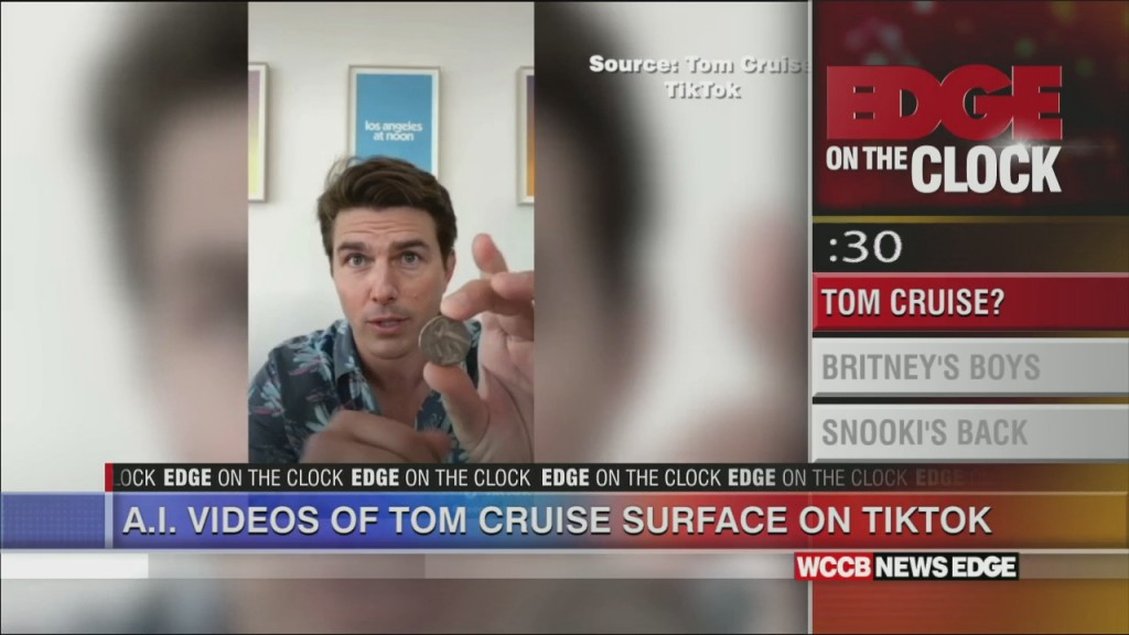 Deep Fakes Of Tom Cruise On Tiktok