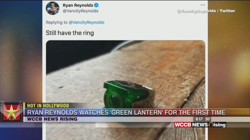 Hot In Hollywood: Ryan Reynolds Watches Green Lantern And Natalie Portman Strikes Deal With Apple