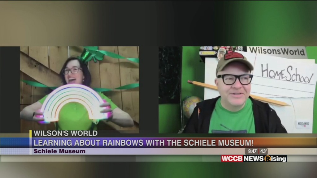 Wilson's World Homeschool: Rainbows Leprechauns And St Patrick's Day Fun At The Schiele In Gastonia