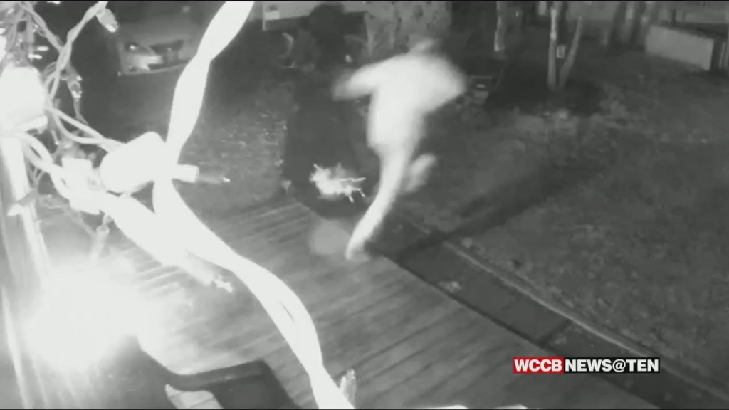 Video Shows Accused Arsonist Setting Fire To A Caldwell County Deputy's Home