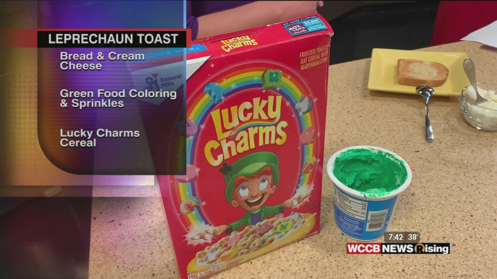 St. Patrick's Day Treat: Leprechaun Toast