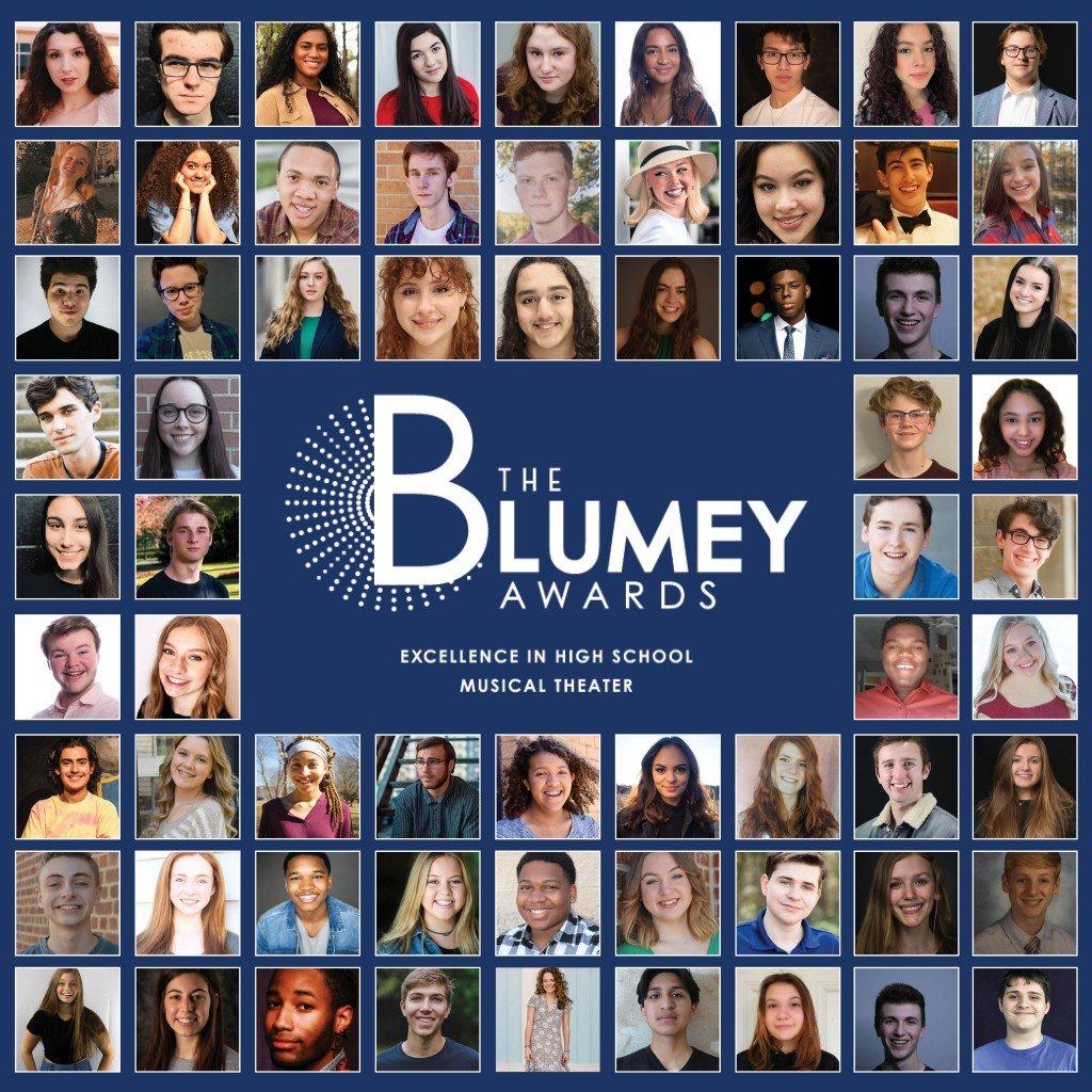 Blumey Awards Nominee Headshots Graphic