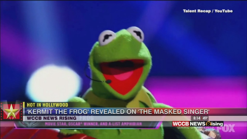 Hot In Hollywood: 'kermit The Frog' Revealed On 'the Masked Singer' And Steven Spielberg Is Directing His Own Biopic