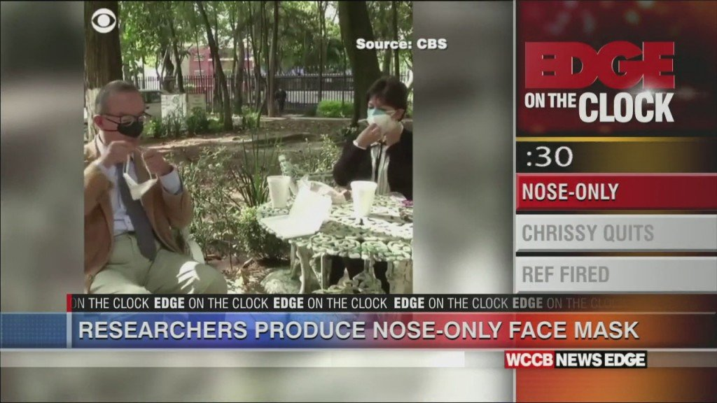 Researchers Produce Nose Only Masks