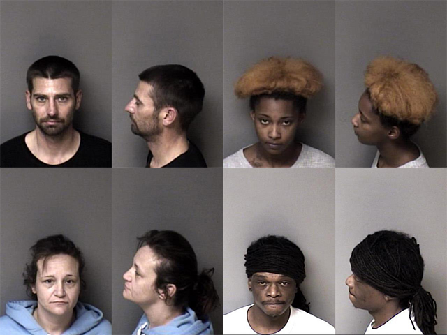 Gaston County Mugshots Cover