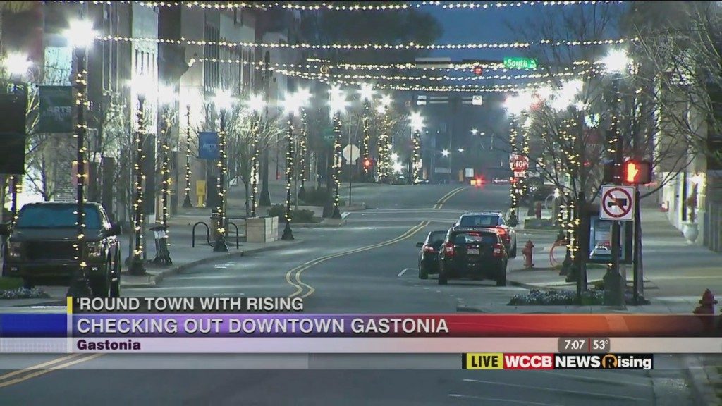 'round Town With Rising: Gastonia