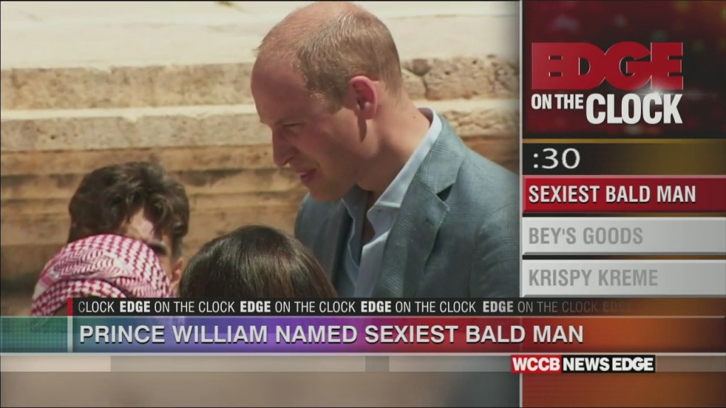 William The World's Sexiest Bald Man?