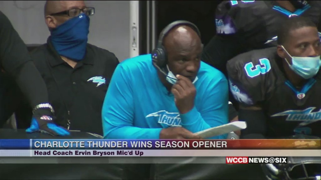 Mic'd Up, Behind The Scenes Look At Charlotte Thunder's Season Opener