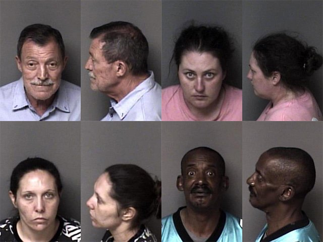 Gaston County Mugshots Cover 4821