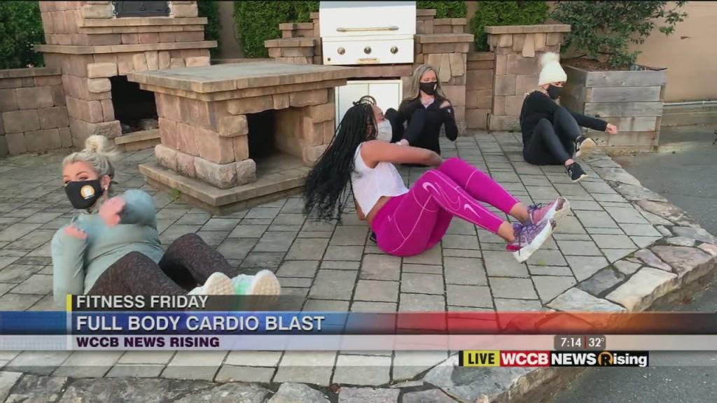 Fitness Friday: Full Body Cardio Blast