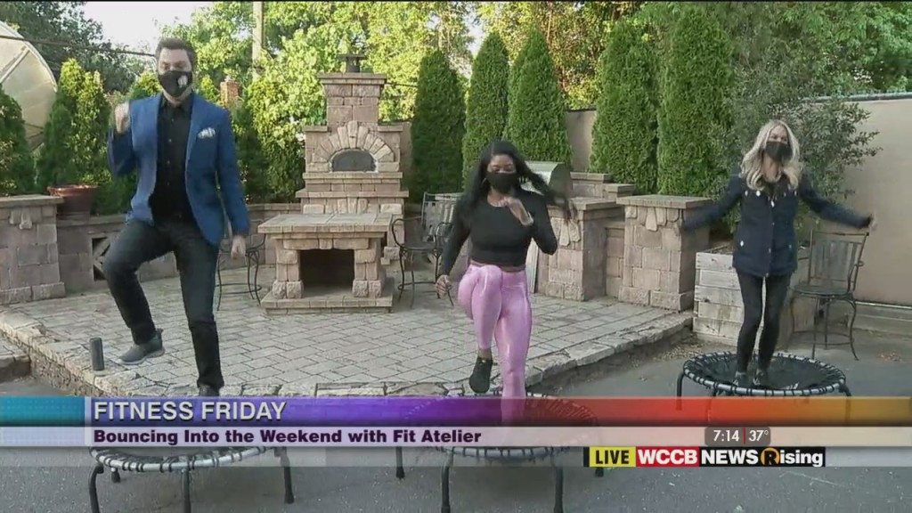 Fitness Friday: Trampoline Workout