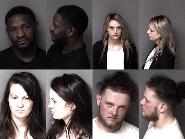 Gaston County Mugshots Cover 4521