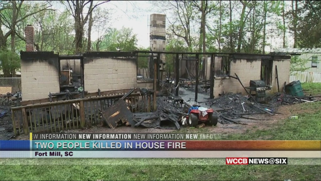 Deadly Fire In Fort Mill