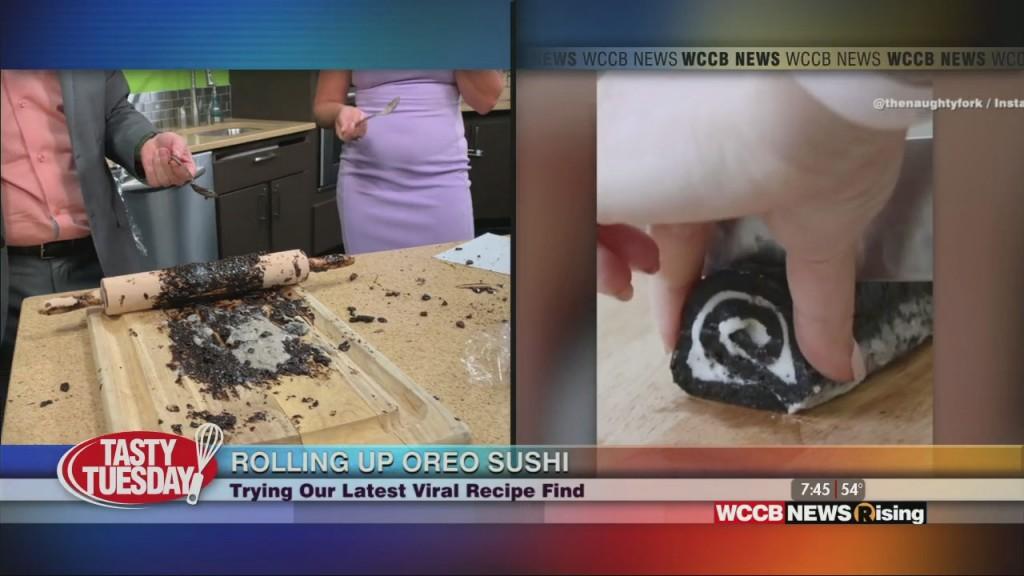 Tasty Tuesday: Oreo Sushi And Twisted Bacon