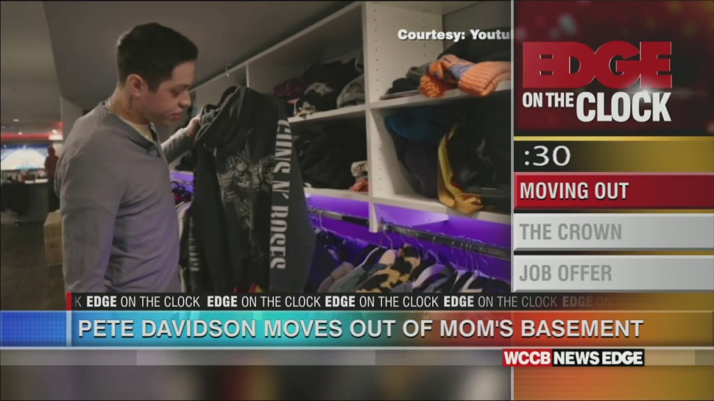 Pete Davidson Moves Out Of Mom's Basement