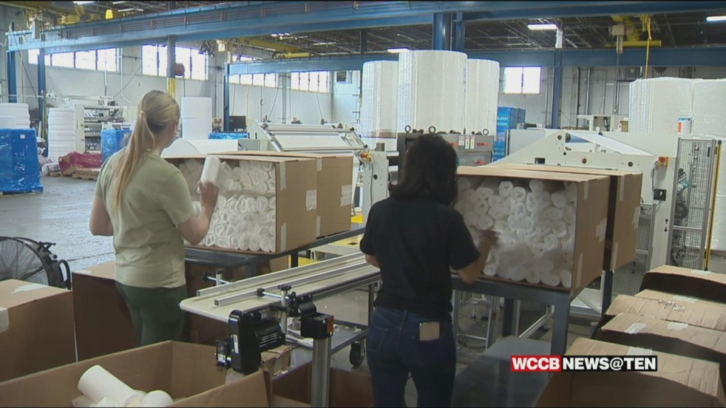 Local Company Helps Fulfill Disinfectant Wipe Orders As Demand Continues To Rise
