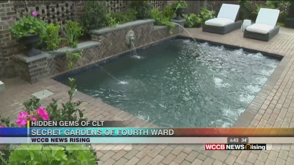 Hidden Gems Of Clt: Secret Gardens Of Fourth Ward