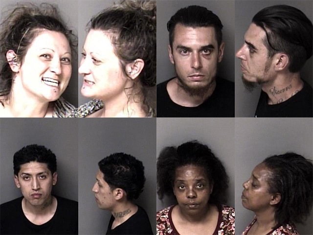 Gaston County Mugshots Cover 41121