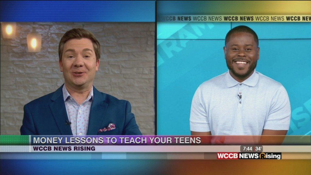 Money Lessons To Teach Your Teens With Anthony O'neal