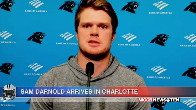 Panthers Qb Sam Darnold Excited About Fresh Start In Carolina