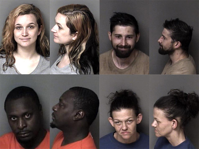 Gaston County Mugshots Cover 41221