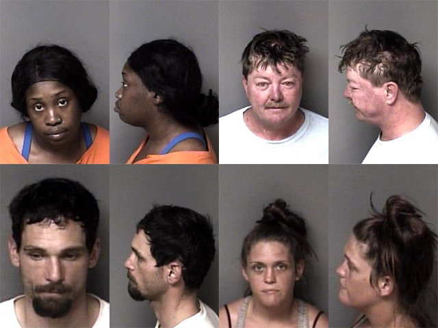Gaston County Mugshots Cover 41421