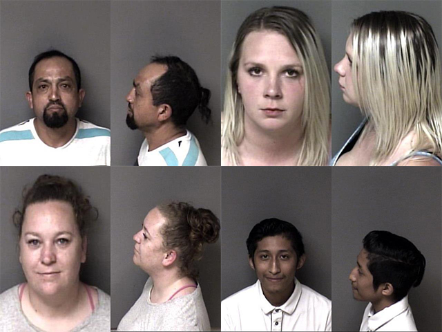 Gaston County Mugshots Cover 4721