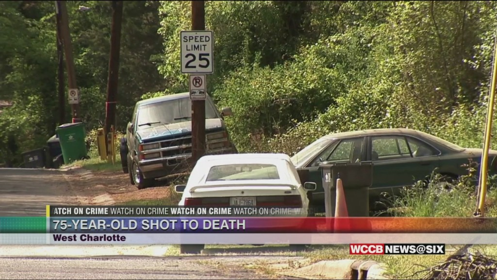 75 Year Old Man Shot To Death In West Charlotte