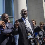 Attorney Ben Crump Speaks Outside The Pasquotank County Public Safety Building In Elizabeth City Nc On Monday April 26 2021 2