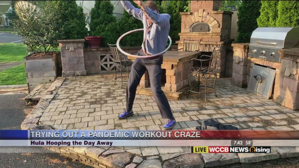 Fitness Friday: Hula Hooping The Day Away