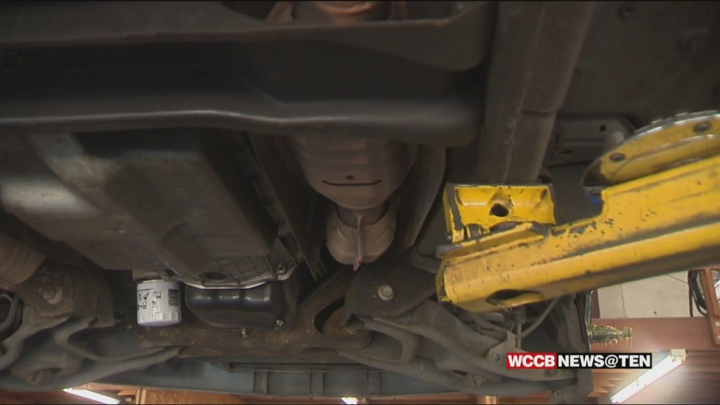 Thieves Are Targeting Catalytic Converters At Record Rates